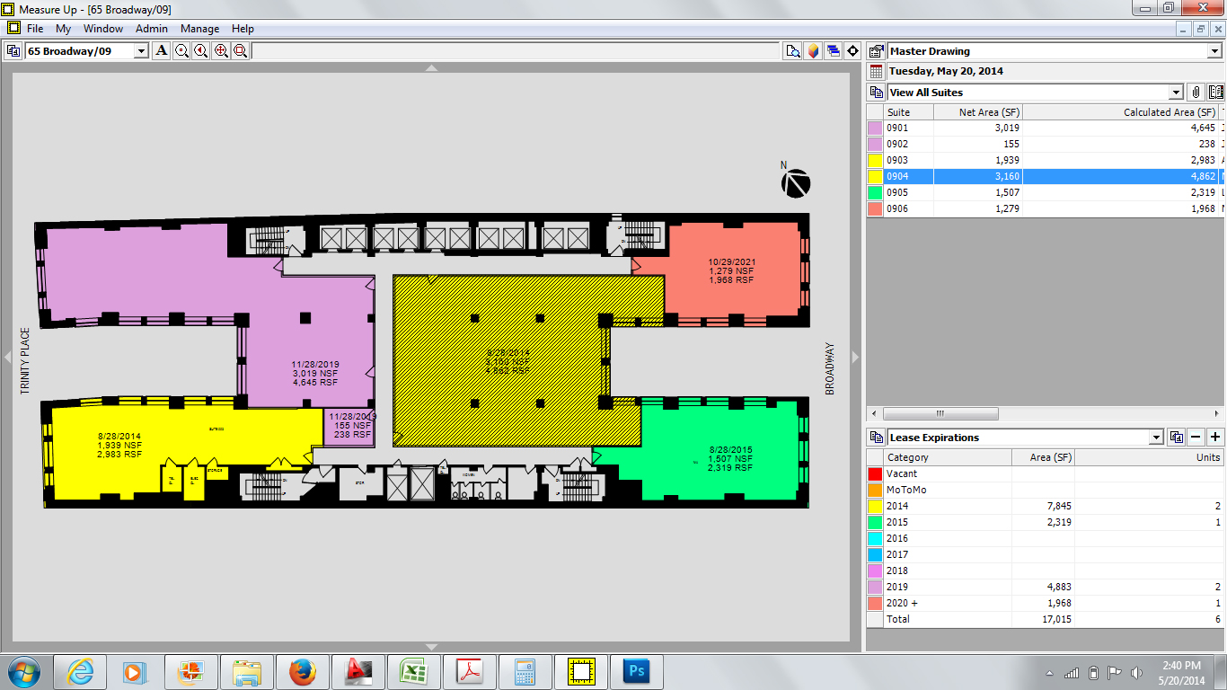Space management software measure up corp measure up for Interactive floor plan software
